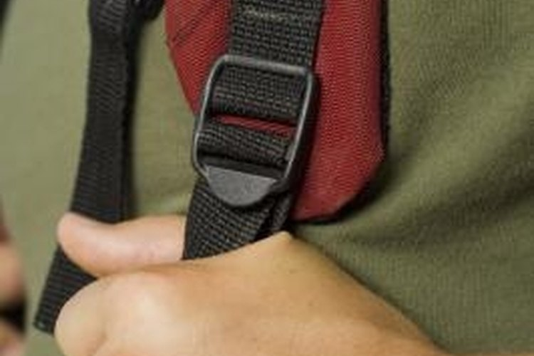 Double-backed straps are the safest way to secure your backpack.