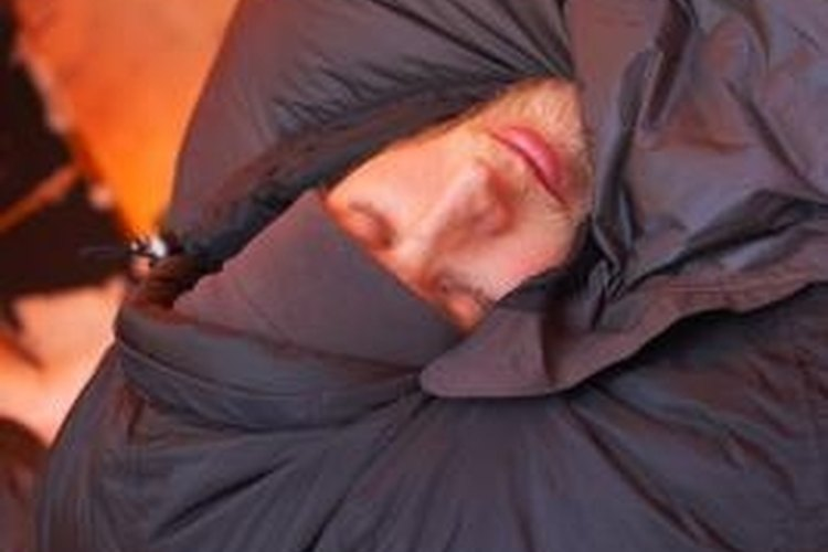 Know your sleeping bag's temperature rating