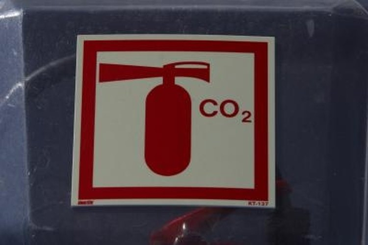 CO2 has a number of common uses, including its use as a residue-free fire extinguisher.