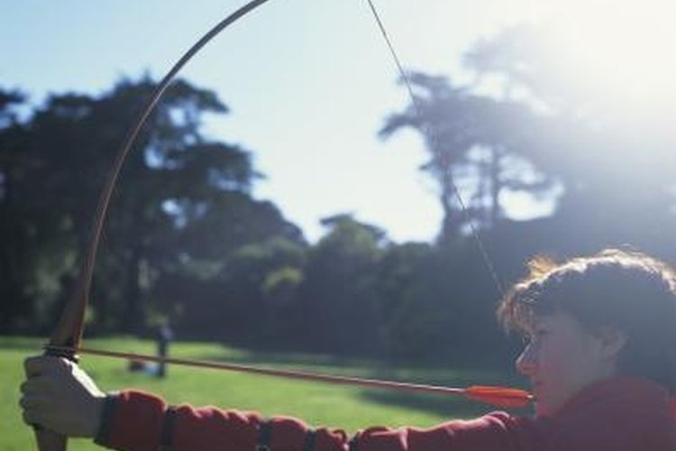 A longbow requires practice to develop accuracy.