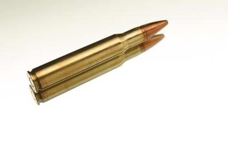 The Remington 740 fires a .30-06 cartridge.