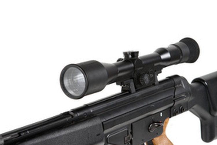 For long distance targets, you may need to adjust sights after the first shot.