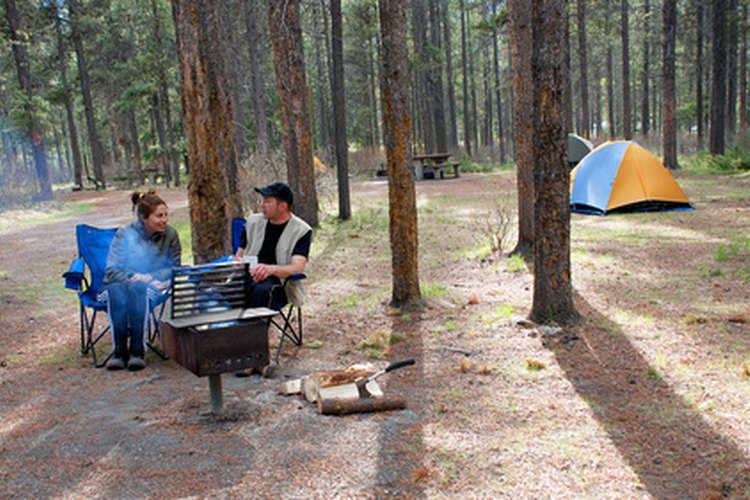 PVC items can increase comfort and ease at the camp site.