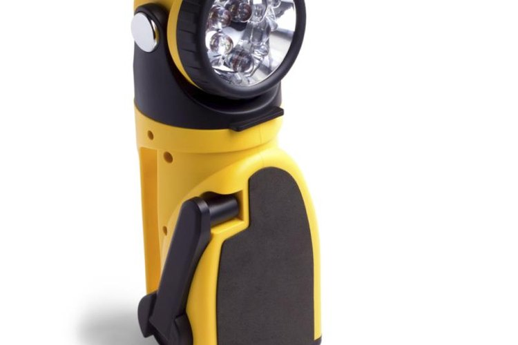 Keep a battery-powered flashlight as back-up.