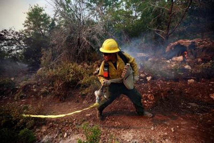 Prescribed fires can lower the fuel load, leading to smaller wildfires.