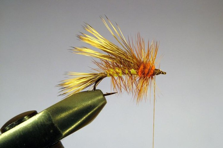 The vise is an essential fly-tying tool.