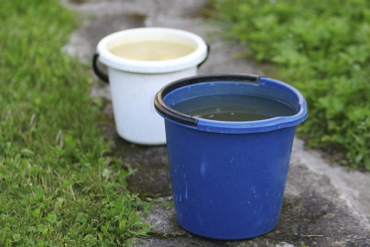 White buckets cast more light than any other kind of bucket camping light.