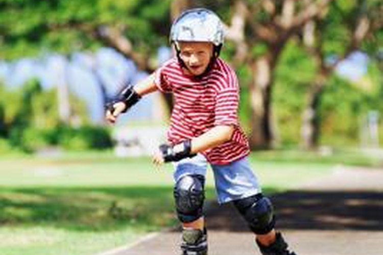 Adjustable inline skates can stretch to accommodate growing feet.