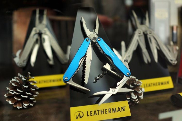 Leatherman knives.