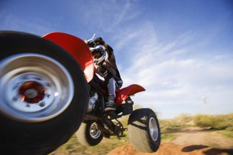 Ride safe by staying on designated ATV routes.