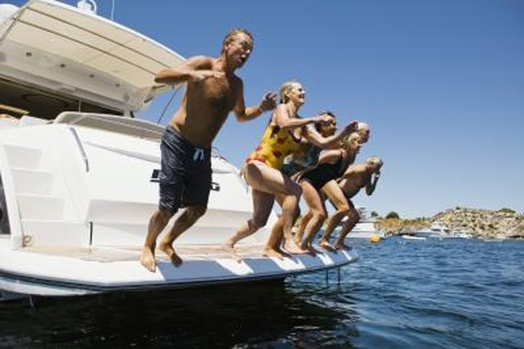 Recreational boating often leads to swimming, and having a platform on the back of your vessel makes it easier to get on and off safely.