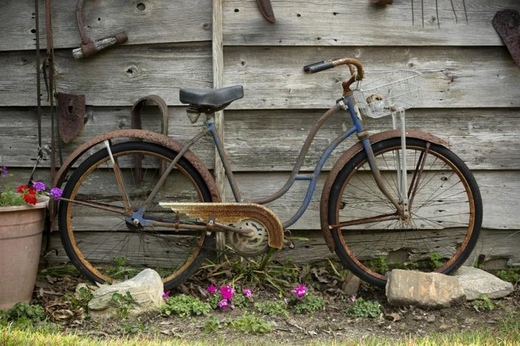 Rust, sometimes referred to as patina, can be desirable to collectors.