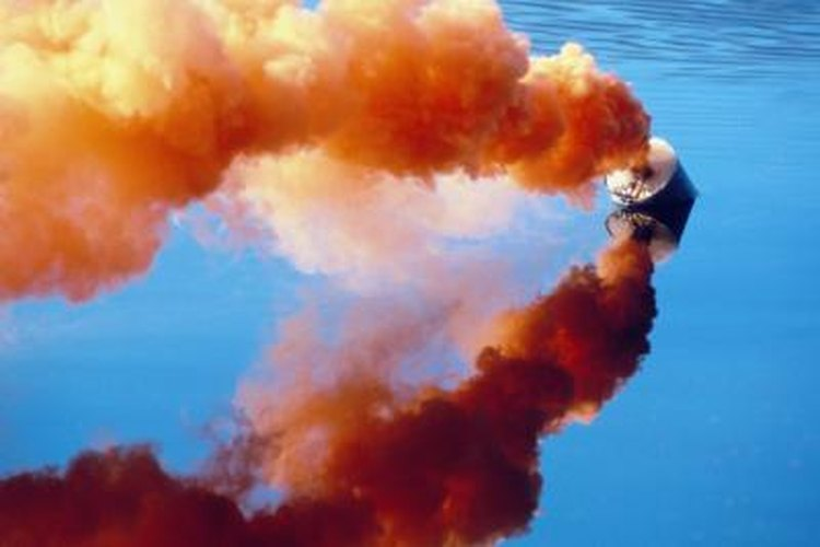 Orange smoke is a type of pyrotechnic visual distress signal recognized by the U.S. Coast Guard.
