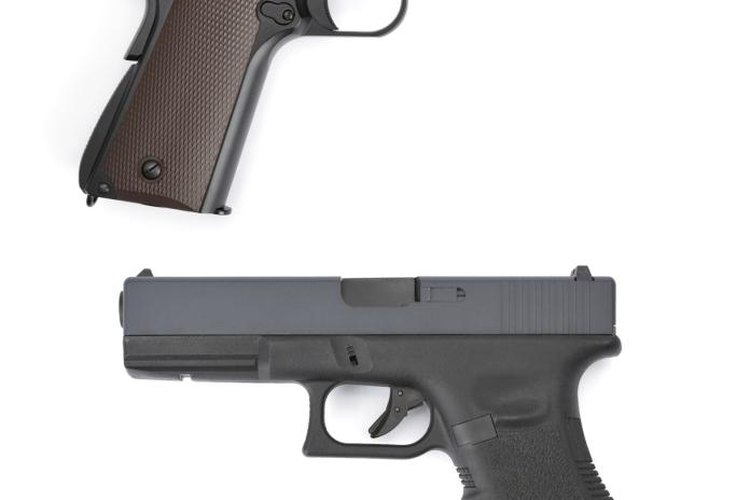 Try out handguns with different grip styles to figure out your preferences.