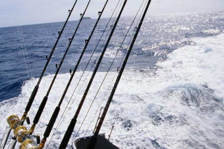 Rods are often shipped for destination trips.