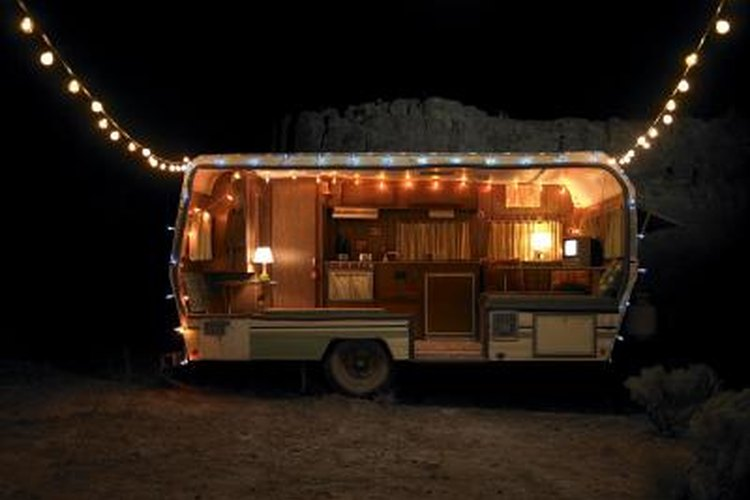 A leaky shower can make your camper a lot less festive.