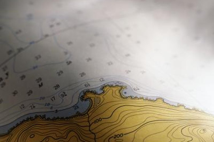 How To Determine Elevation From A Topographic Map Gone Outdoors - How to determine elevation