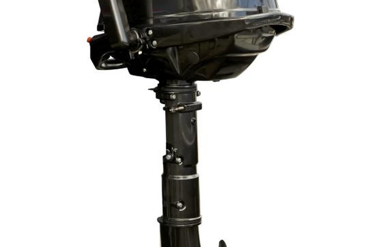Outboards engines can weigh upwards of 800 pounds.