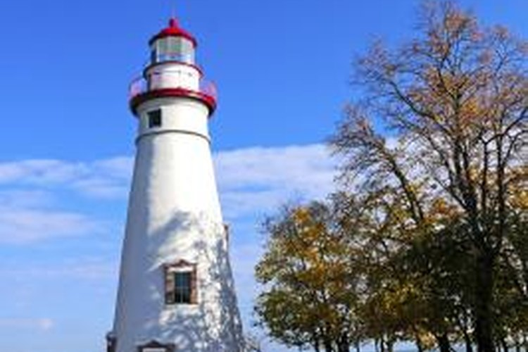 Ohio's Marblehead Lighthouse has operated continuously since 1822.
