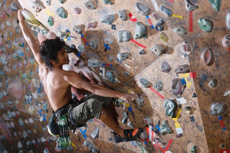 Winter is a great time to get ripped at your indoor climbing wall.