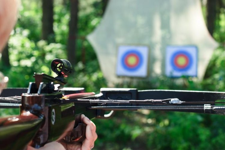 Few crossbow enthusiasts are consistently accurate beyond about 60 yards.