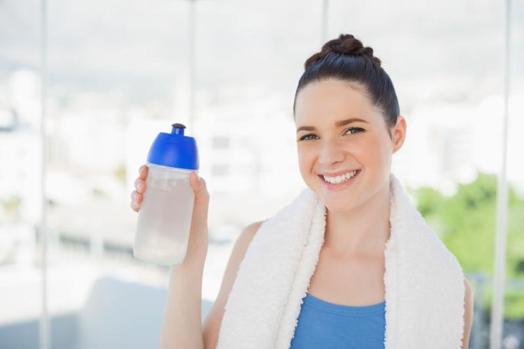 A cooling towel and water can help ease overheating.