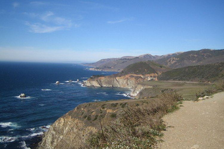 Los Padres National Forest stretches from Monterey County to Los Angeles County.