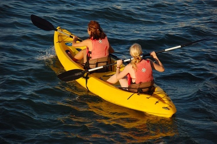 A rented kayak is an invigorating means to explore the 10,000-year-old glacial lake of Swartswood State Park.