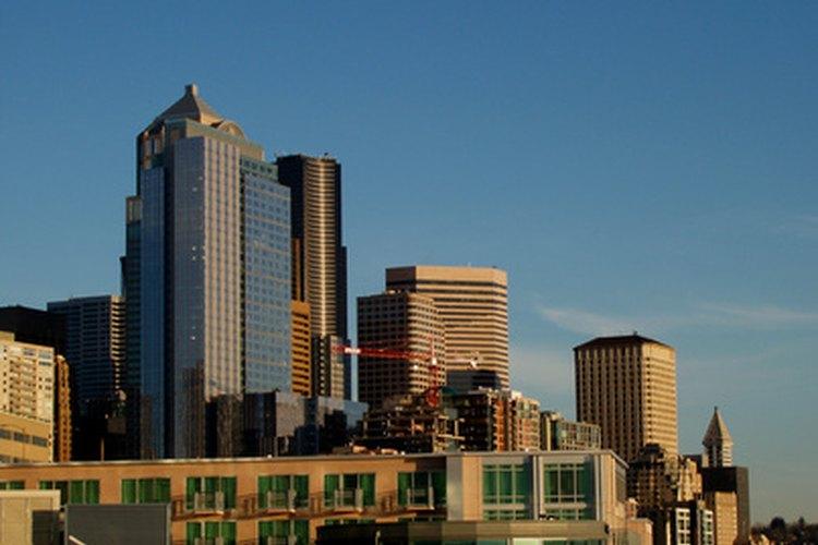 Vancouver, Washington's humble skyline.