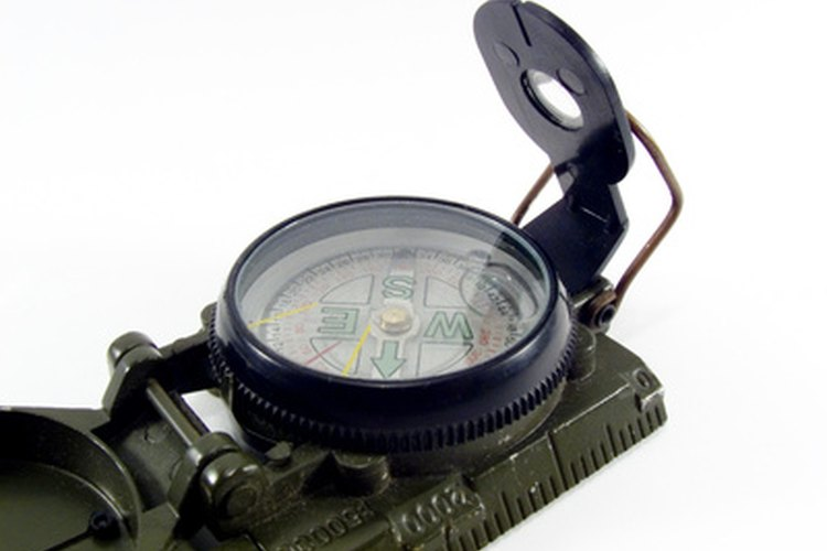 A lensatic compass will help you stay on track in the wilderness.