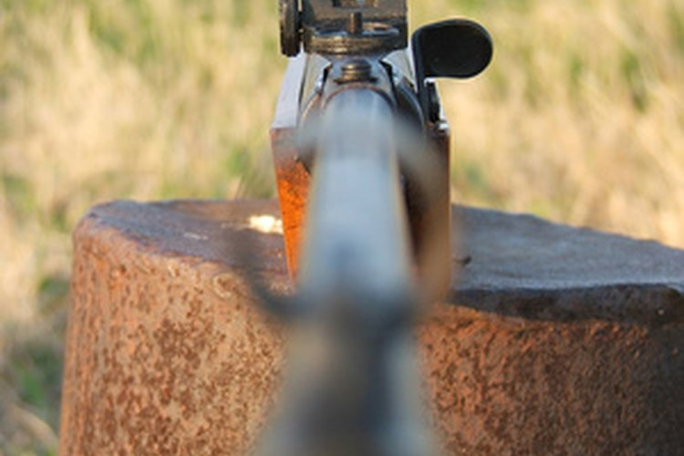 Scopes have replaced iron sights on most new rifles