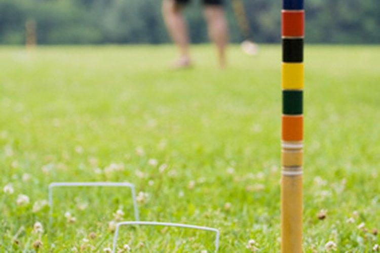 el croquet es un juego sobre csped divertido para los nios