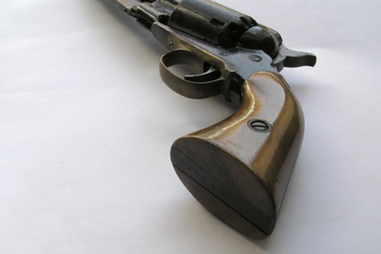The Colt revolver is one of the most recognized revolvers.