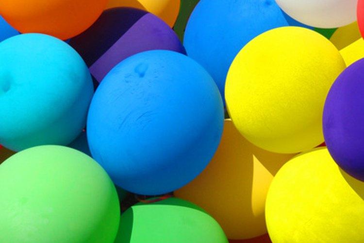 algunas actividades para nios usan globos como piezas de juego