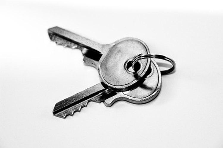 Having a well-hidden, spare key is a good idea