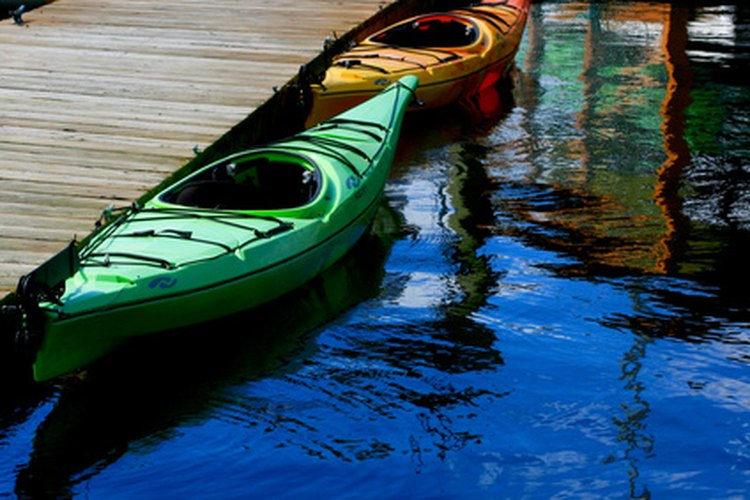 Getting into a kayak from an ordinary dock can be a challenge.