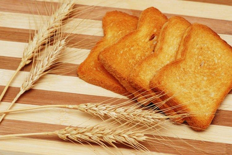 En una dieta se puede comer pan tostado