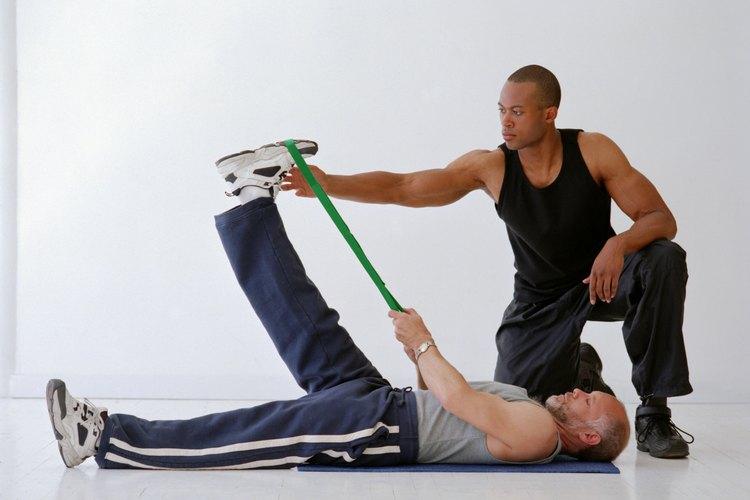 Cómo sanar un dolor de cabeza provocado por levantar pesas..