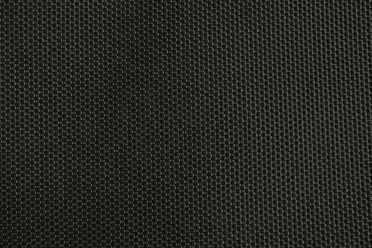 Close-up of black cordura fabric.