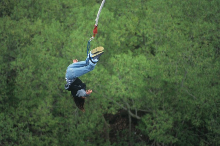 Bungee jumping is an exhilarating way to celebrate Canton, Ohio's outdoor beauty.