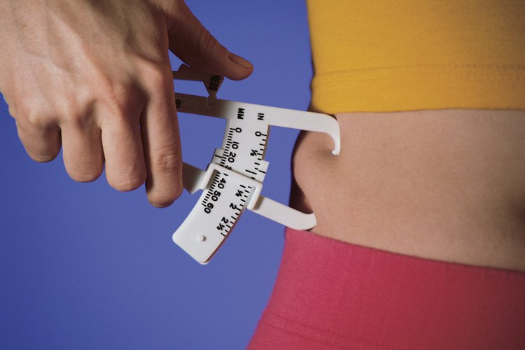 cinta métrica exacta de la calculadora de la grasa corporal