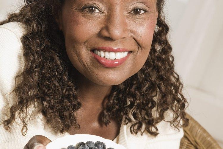baja gi frutas arándanos y diabetes