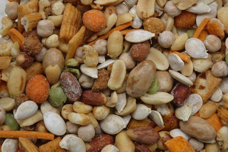 Una dieta sana debe incluir nueces y almendras.