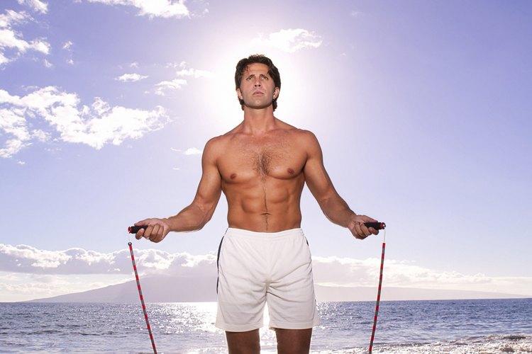 Saltar cuerda ayuda a bajar de peso
