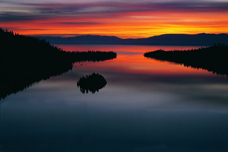 Dawn at Lake Tahoe.