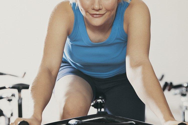 Bajar de peso con bici fija