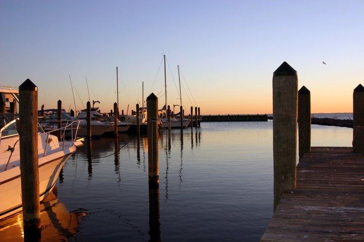 Chesapeake Bay fishing boats.