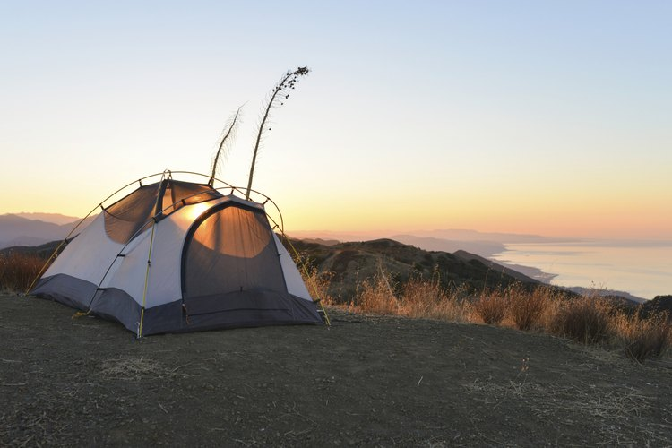 In Southern California, you can camp throughout the year.