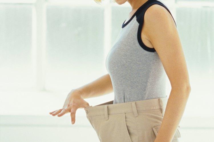 objetivo de calorías de ejercicio de pérdida de peso