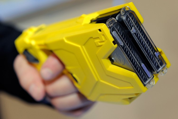 The X2 taser used by law enforcement.